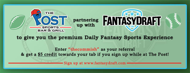 FantasyDraft Website Homepage