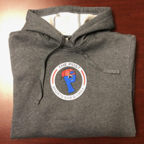 Gray Post Sports Bar & Grill Pullover Hoodie