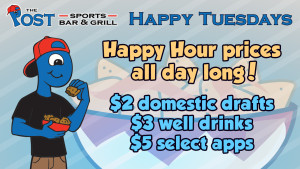 Happy Tuesdays - Rotating Banner Ad