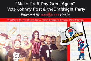 Vote Johnny Post - Draft magnet