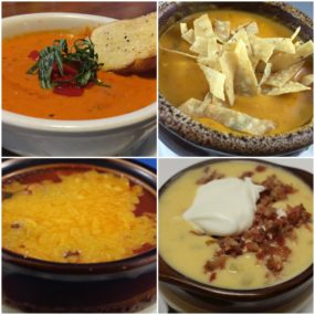 Delicious seasonal soups