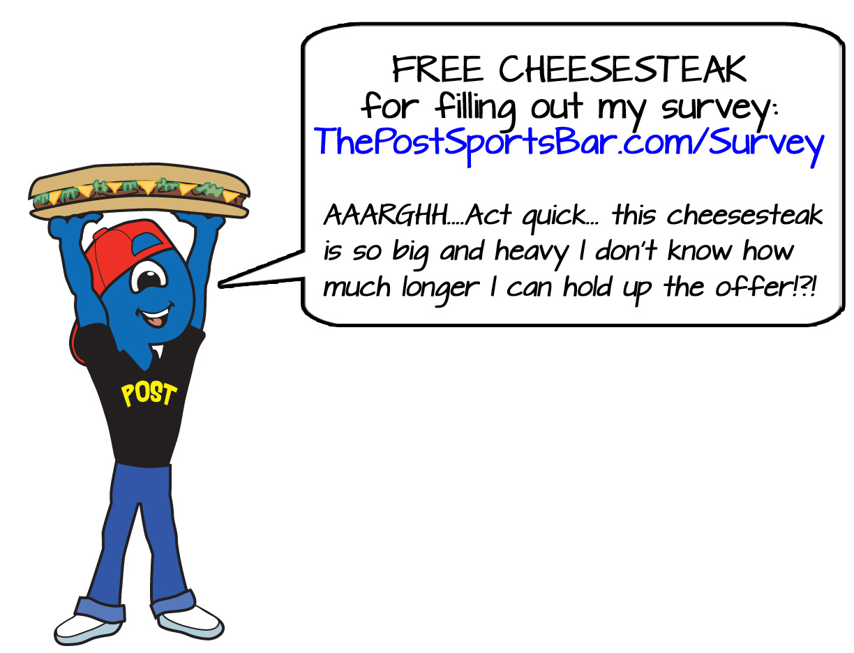 cheesesteak-survey-coupon-johnny - The Post