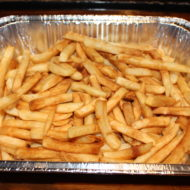 French Fry Catering tray with homemade seasoning