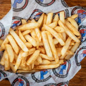 Crispy French Fries with homemade fry seasoning