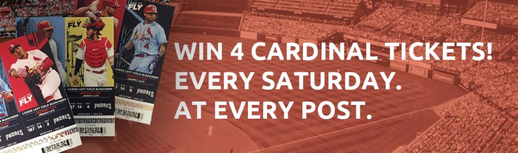 St.Louis Cardinal Tickets to Busch Stadium